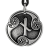 Pewter Nied Rune of Constraint Necklace