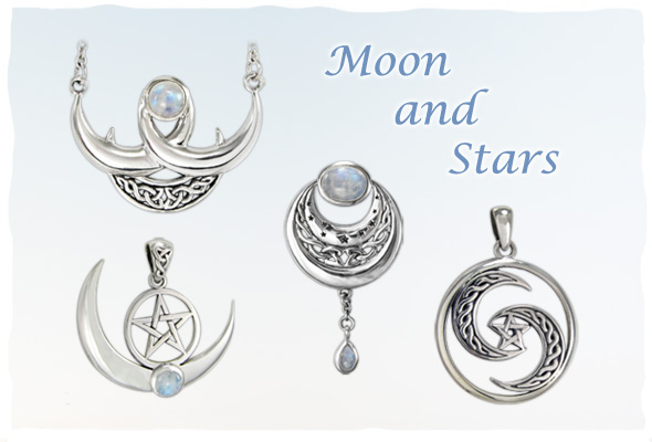 Moon and Stars Jewelry