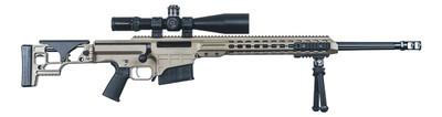 """Barrett Firearms MRAD 24"""" Flat Dark Earth 338 Lapua Magnum."""