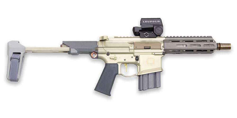 The Honey Badger Pistol by Q 300 Black Out