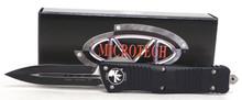 Microtech Combat Troodon OTF D/E Auto Knife Black