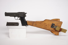 RARE Browning Hi Power Full Auto Machine Pistol RARE 9mm