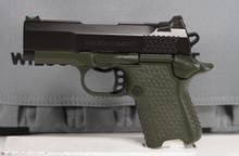 Wilson Combat EDC X9S - Black over OD Green Frame