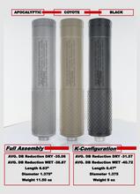 Microtech Defense Industries - R2K9 - 9mm Suppressor