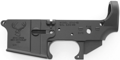 Stag Arms AR-15 Stripped Lower Receiver.
