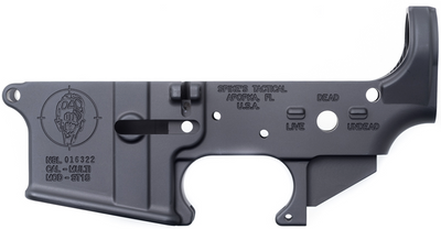 Spikes Tactical Zombie AR-15 Lower, Spikes Tactical Zombie Lower, Spikes Lower Receiver, Spikes Tactical Lower, Spikes Stripped Lower, Zombie Lower, Spikes Zombie Lower
