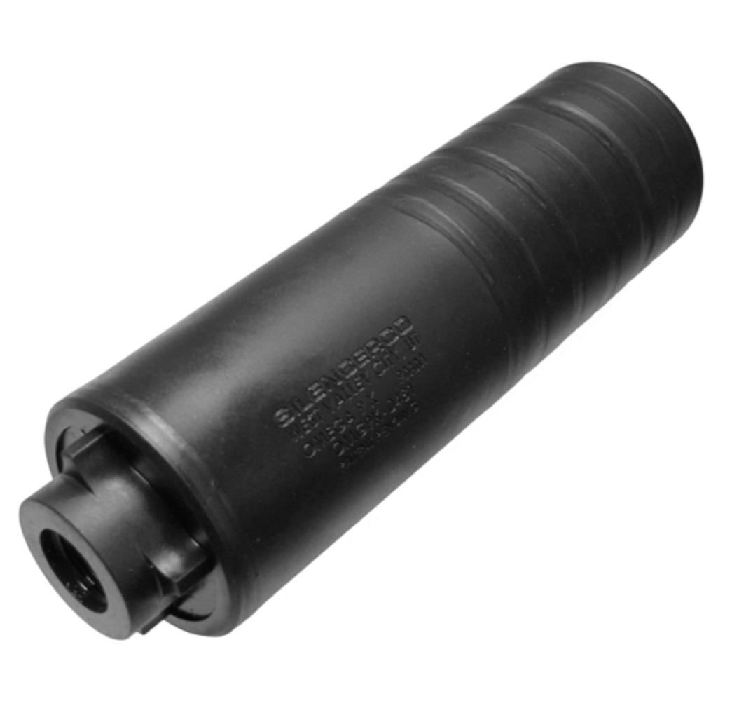 SilencerCo Omega 9K Multi-Caliber Suppressor