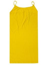 Long Spaghetti Strap Cami Mustard