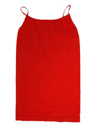 Regular Length Cami Red