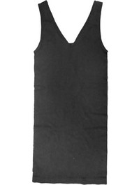Long Wide Strap Reversible Cami Black