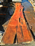 "Cypress Slab CP-10 3""x22""-38""x168"" - wood slab"