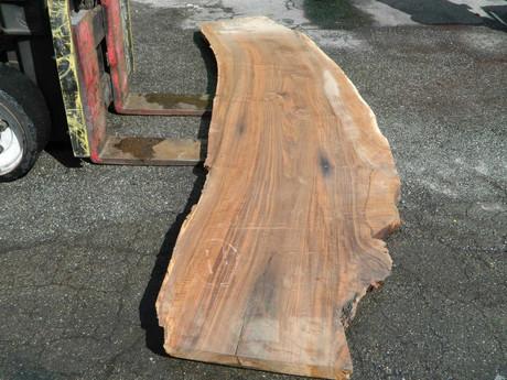 """Claro Walnut Slab MW-307 2¼""""x24""""-33""""x117"""" - wood slab"""