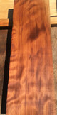 "Old Growth Curly Redwood. Milled in 1948. 7.5"" x 24"" x 2"""