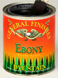 Water Based Dye Stain - Ebony