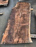 "Claro Walnut Slab GWS-244 4""x29""-37""x80"""