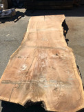 "GWS-829 Claro Walnut 46""-57""x120""x3.5 - wood slab"