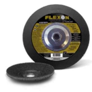"FLEXON by Flexovit A1334H 4-1/2""x1/4""x5/8-11 ZA24S  -  HEAVY DUTY Depressed Center Grinding Wheel"