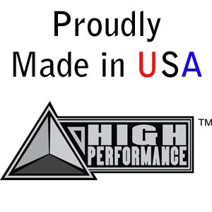 "HIGH PERFORMANCE by Flexovit N0131 1-1/4""x3""x3/8-24 A24RB Resin Cone"