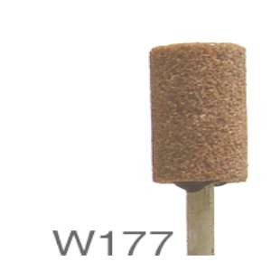 "HIGH PERFORMANCE by Flexovit M0177 3/8""x3/4""x1/8"" SHANK WA60RV VITRIFIED Mounted Point"