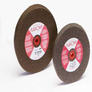 "HIGH PERFORMANCE by Flexovit U5230 10""x1""x1-1/4"" A60 FINE  -  FINISH GRINDING Bench Grinder Wheel"
