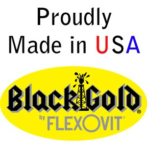 "BLACK GOLD by Flexovit F1446 5""x3/32""x7/8"" A36U  -  HEAVY DUTY Reinforced Angle Grinder Cutoff Wheel"