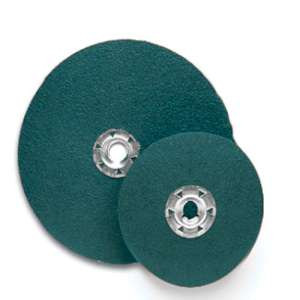 "FLEXON by Flexovit 32476 4-1/2""x5/8- 11 QUICK-SPIN ZA24  -  HIGH PRODUCTION Resin Fiber Disc"