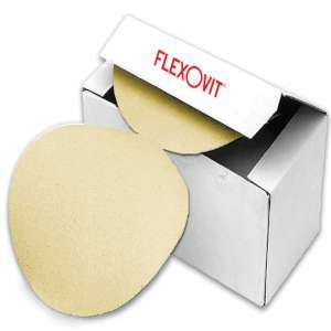 "HIGH PERFORMANCE by Flexovit 28540 5""xNOHOLES A240-B Pressure Sensative Adhesive (PSA) Sanding Disc"