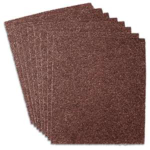 "HIGH PERFORMANCE by Flexovit R2024 9""x11"" A80 Sandpaper Sheet"