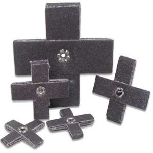 "HIGH PERFORMANCE by Flexovit 45834 1""x1""x3/8"" A80 Cross Pad"