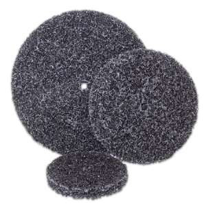 """HIGH PERFORMANCE by Flexovit H0415 4""""x5/8""""x1/4"""" Extra Coarse Black Clean and Strip Disc"""