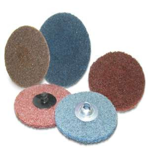 """HIGH PERFORMANCE by Flexovit H0353A 3"""" SPIN-ON FINE BLUE Surface Conditioning Disc"""