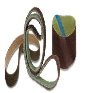 """HIGH PERFORMANCE by Flexovit 49525 6""""x48"""" COARSE BROWN  -  Heavy Duty Surface Conditioning Belt"""