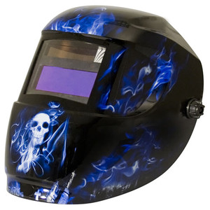 ArcOne Carrera Blue Doom Variable Shade Welding Helmet
