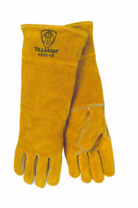 "Tillman 1050-18 18"" Premium Side Split Lined Cowhide Welding Gloves"