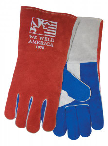 Tillman 1075 Premium Side Split Cowhide Welding Gloves