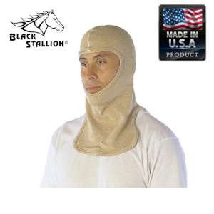 Revco Black Stallion PBI Blend Knit Single Layer Balaclava Sock Hood with Neck Flaps