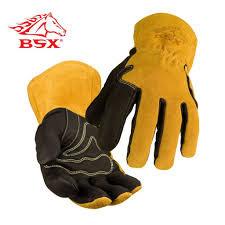 BSX® Pigskin/Cowhide MIG Welding Gloves