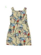 Pacific Parrots Short Tank Dress