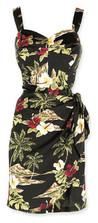Hawaiian Plantation Sarong Dress