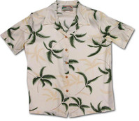 Hurricane Womens Hawaiian Camp Shirt