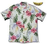 Honolulu Hibiscus Men'sHawaiian Shirt