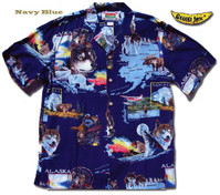 Alaska Men's Hawaiian Shirt