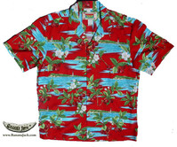 Island Cherry Men's Hawaiian Shirt