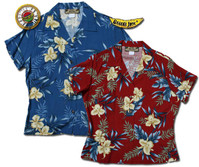 Ali'i Womens Fitted Hawaiian Shirts