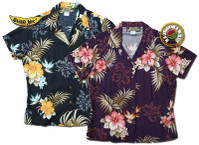 Big Kanaka Womens Fitted Hawaiian Shirts