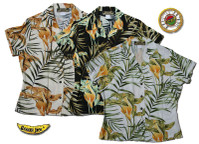 Island Lilly Womens Fitted Hawaiian Shirts