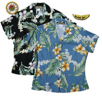 O'Lei Womens Fitted Hawaiian Shirts