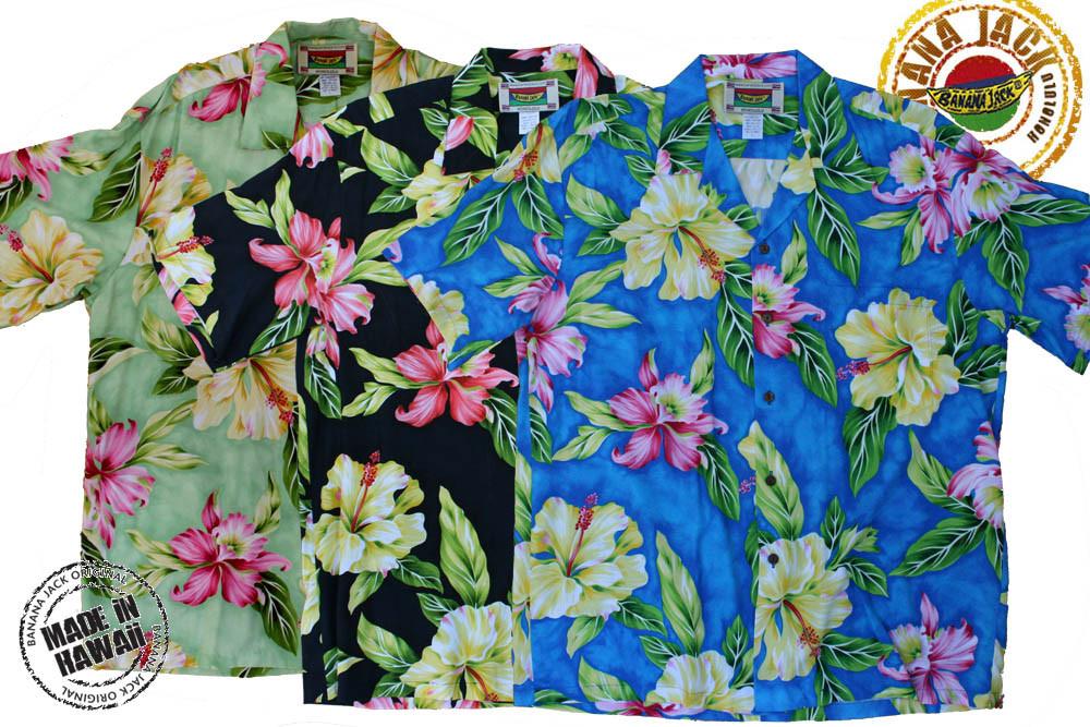 8fabc779823 Kahala Mandarin Men s Hawaiian Shirts - bananajack.com