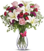 Pink Butterfly Bouquet