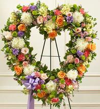 Floral Garden Heart